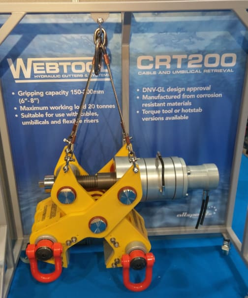 Thumbs up from DNV GL for Webtool Cable Gripper
