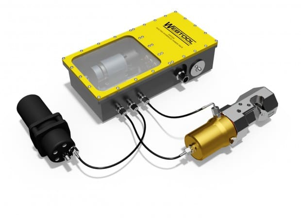 Webtool targets smaller and inspection class ROVs with Electro-Hydraulic Power Pack