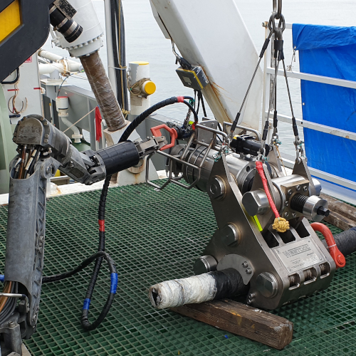 Webtool Focus on ROV and Cable Retrieval at Subsea Expo 2020